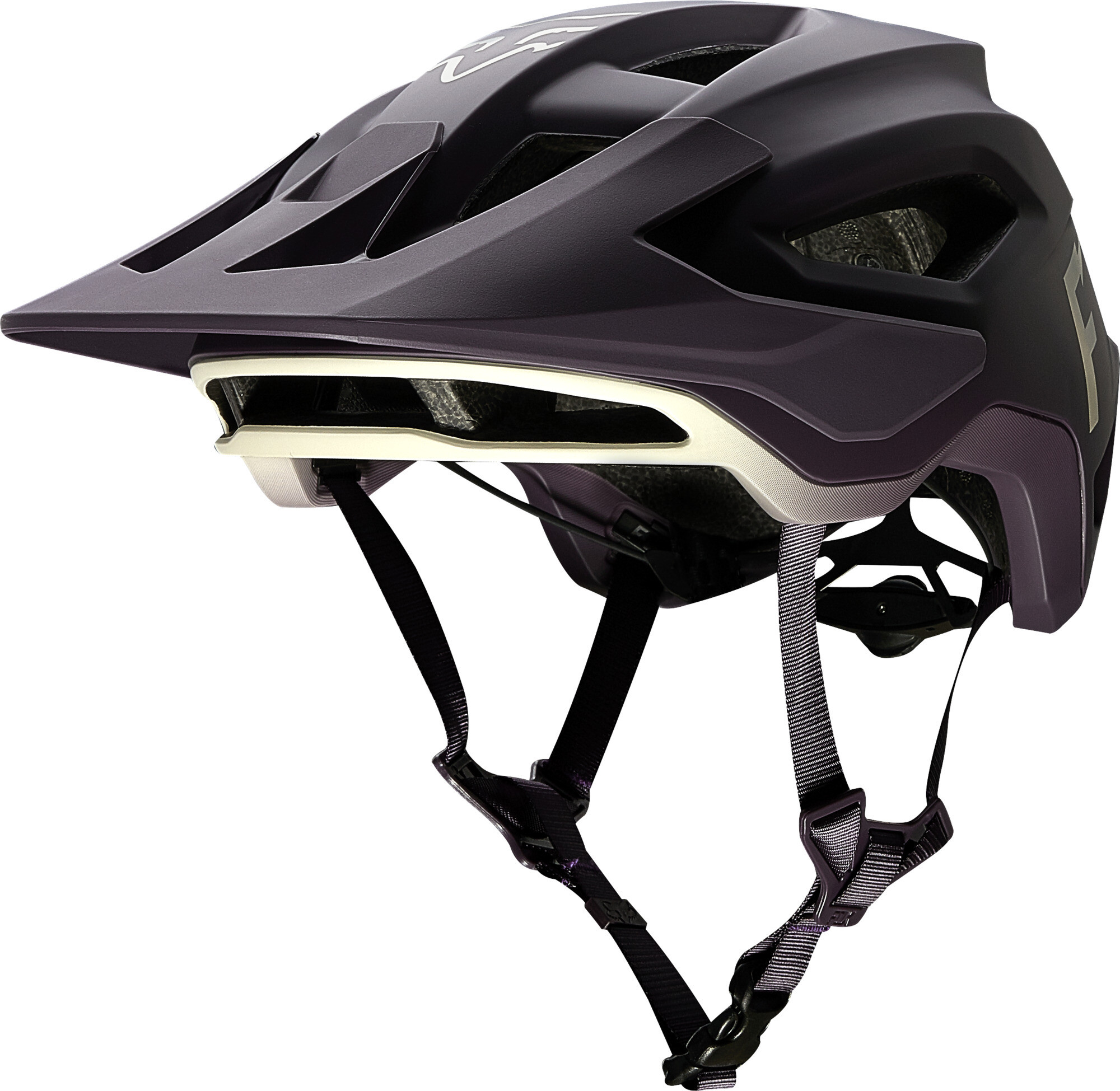 Fox casco speedframe amarillo